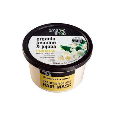 Organic Shop maska do włosów jaśmin i jojoba
