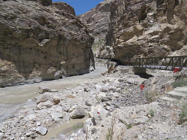 Confluence of Sutlej and Spiti