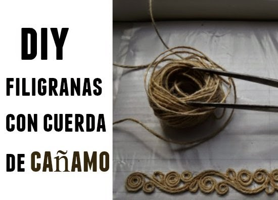 filigranas, figuras, cuerdas, cañamo, arte, manualidades