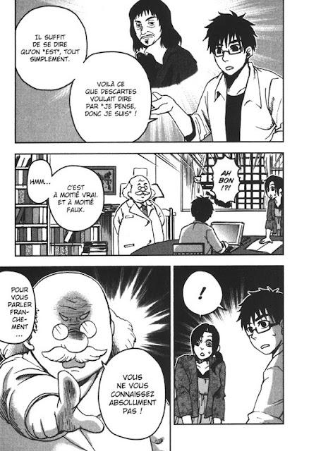 Page du Discours de la méthode par Decartes chez Soleil Manga