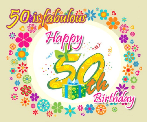 50th birthday wishes - 50th Birthday Wishes