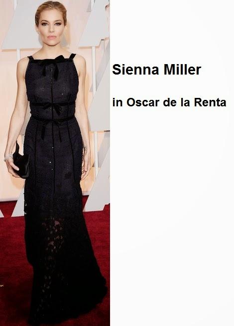 Sienna%2BMiller%2Bin%2BOscar%2Bde%2Bla%2BRenta - Look Óscares 2015