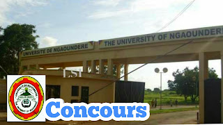 Concours SVMS of the University of Ngaoundere 2018-2019: Level 1 cycle of Veterinary Doctors