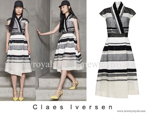 Queen Maxima wears Claes Iversen Fancy Dress