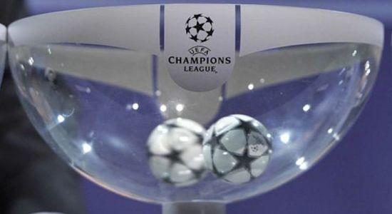 Champions League: Sorteggio live degli Ottavi di coppa