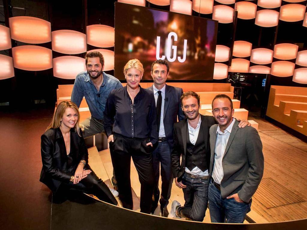 L'équipe du Grand Journal de Canal +