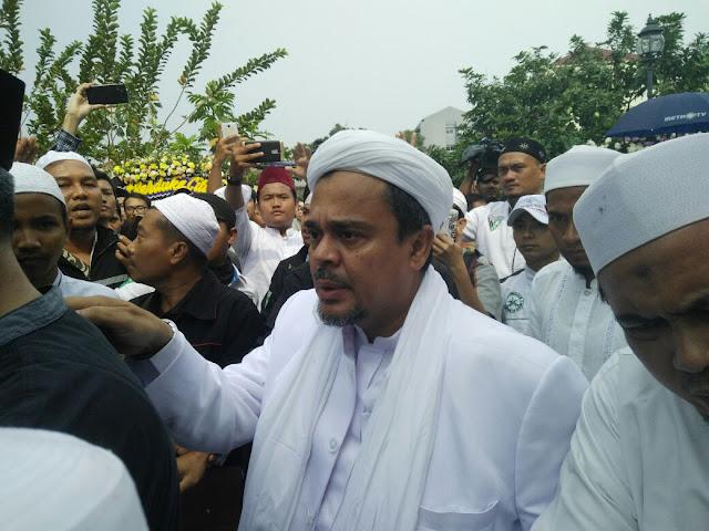 Besan Wafat, Habib Rizieq Serukan FPI Melayat ke Petamburan