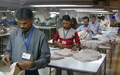 Quality check in garments industry