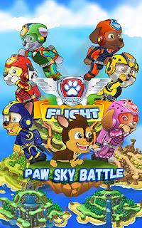 Game Paw Sky Battle Puppy Flight Apk