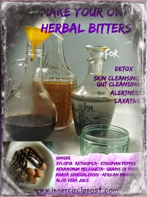 herbs for making herbal bitters