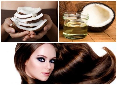 Cách chăm sóc tóc bằng dầu dừa cho tóc hư tổn