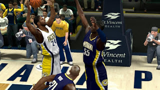 NBA 2K13 Indiana Pacers Jersey Patch