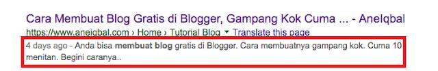 cara buat artikel di blog