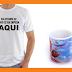 Camisetas e Canecas os novos queridinhos do catálogo de produtos