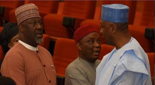 Names Of 17 Senators Who Decamped To PDP Today As APC Falls To Minority In Senate