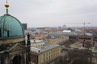 Isla de los Museos desde la catedral