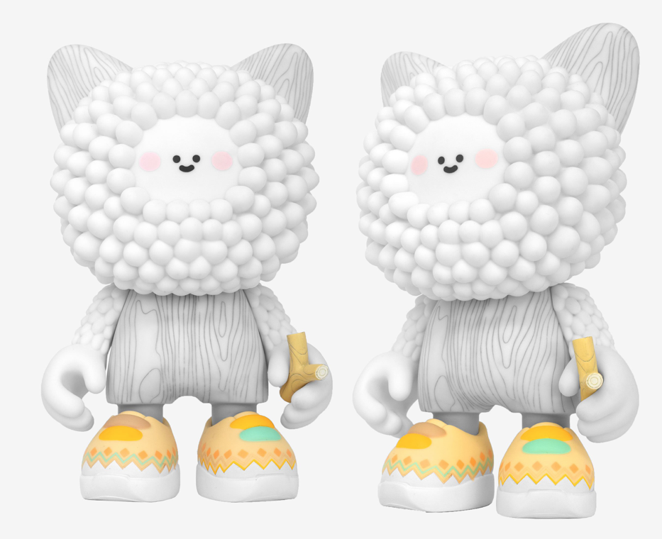 Momiji Bubi Au Yeung Golden Treeson Infant Mini Figure Designer Art Toy Limited