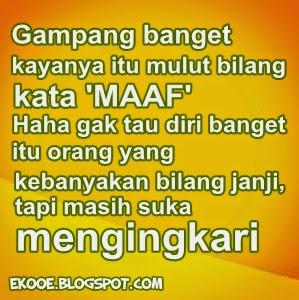 Gambar Foto DP BBM Kecewa Sama Pacar