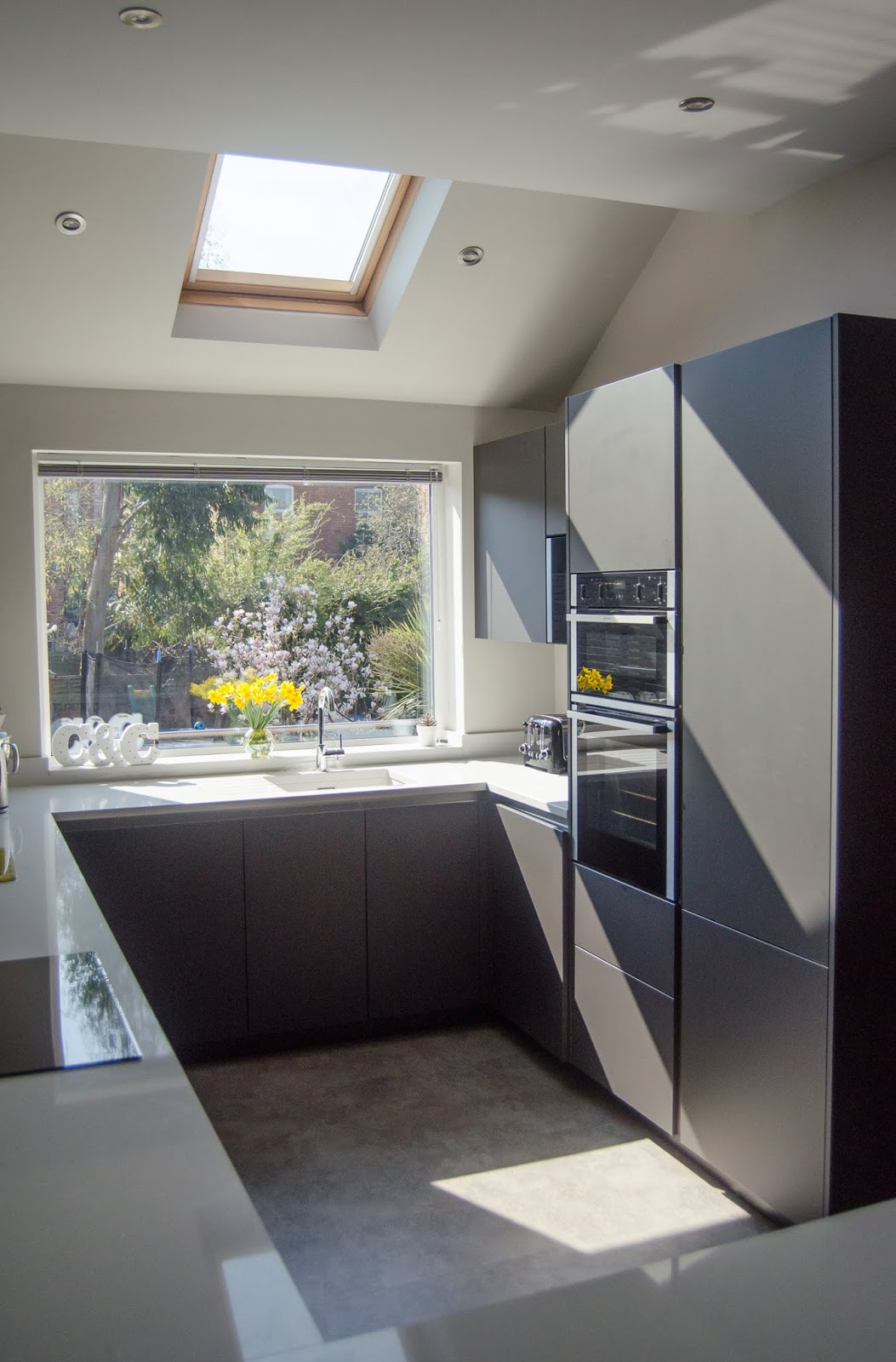 Kitchen Extensions With Velux Windows Side Street Style Making A Loft Bathroom Extension Feel Spacious