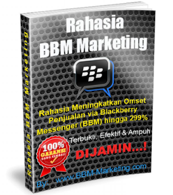 Download eBook GRATIS | Rahasia BBM Marketing