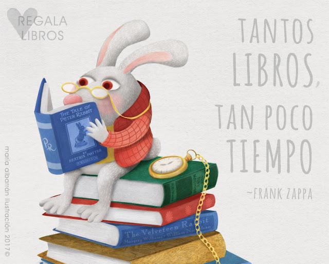 Tantos Libros... Maria Albarran Ilustracion