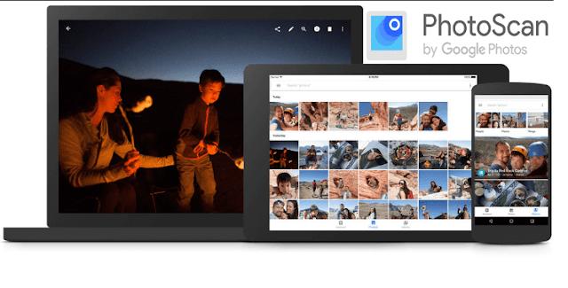 جوجل تطلق تطبيق PhotoScan لمسح الصور ضوئياً