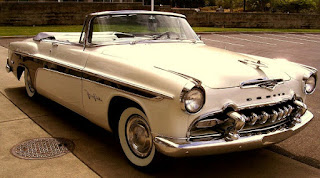 1955 Chrysler Desoto Fireflite Convertible Front Right