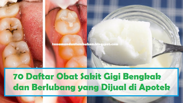 Obat Sakit Gigi Bengkak dan Berlubang yang Ada di Apotek