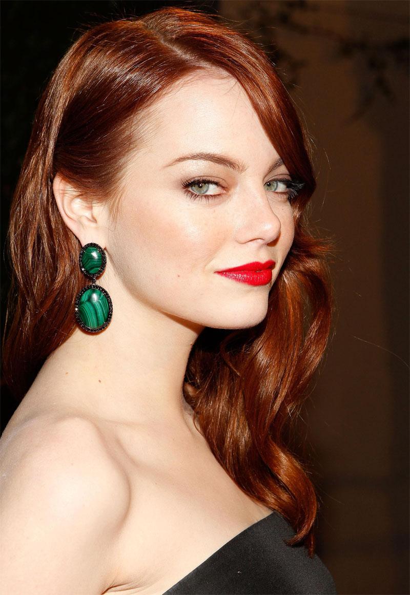 Hair Emma stone