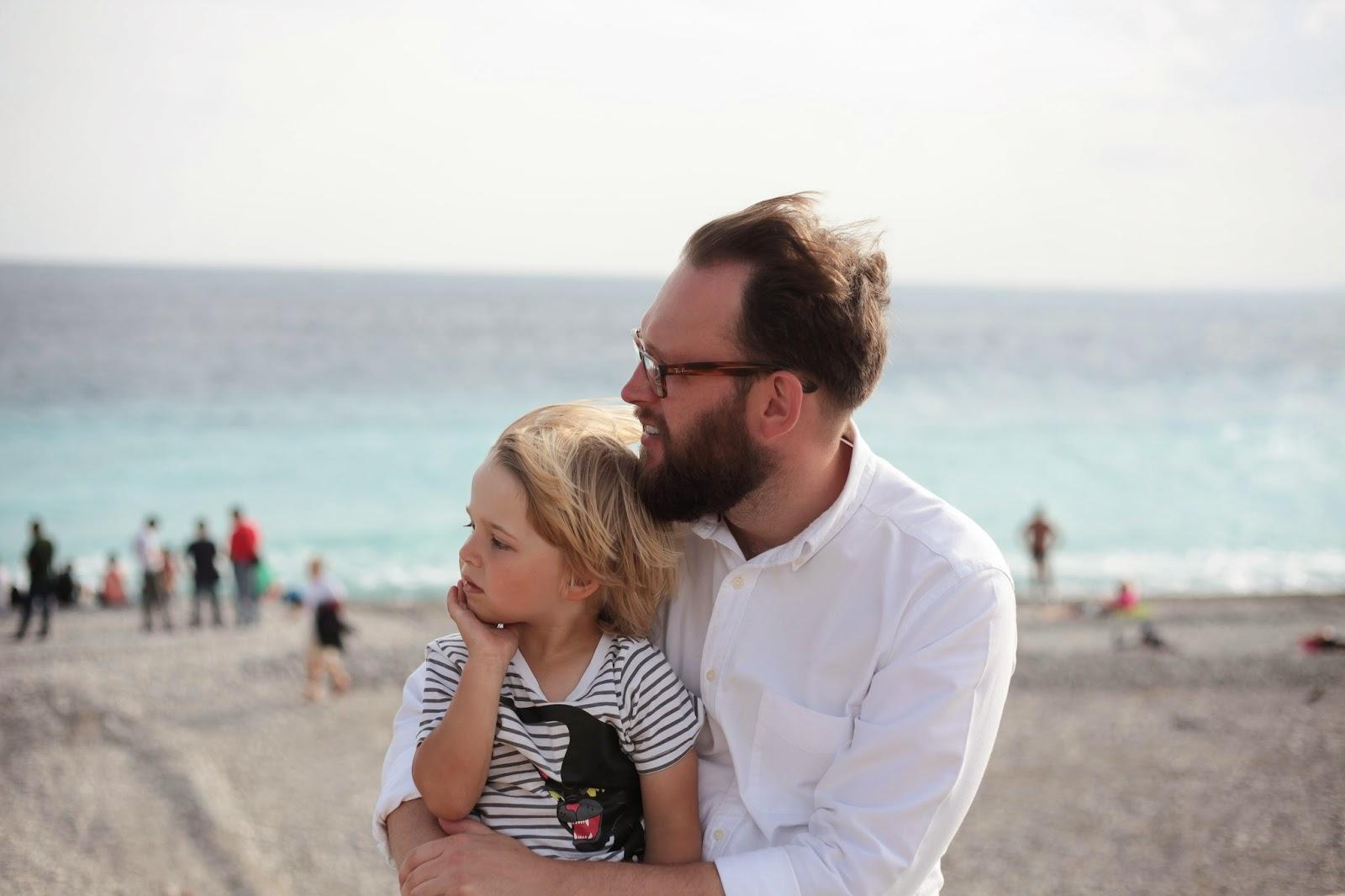 Nice beach France