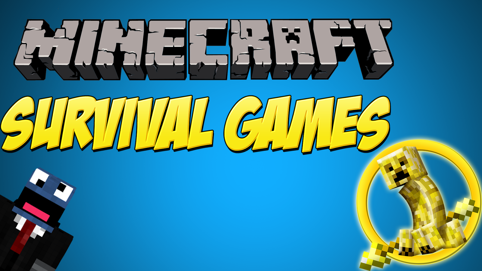 Minecraft Thumbnail Survival Games