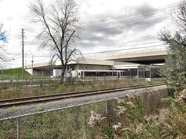 Lawrence East RT station, south east elevation