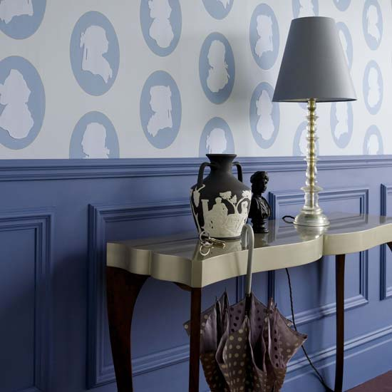 Walls: Wallpapering Around A Chair Rail