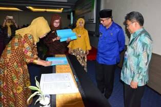 OPD Pemko Padang Tandatangani Komitmen SPIP