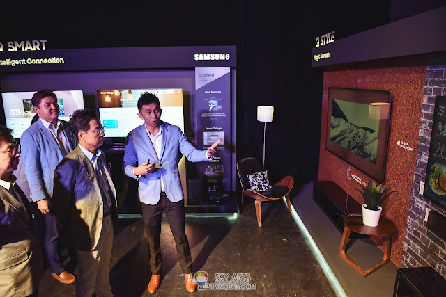 Samsung 2018 QLED TV launch in Malaysia - TV for Modern Home
