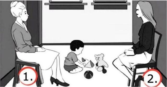 Ποιά Είναι Η Μητέρα Σε Αυτό Το Σκίτσο