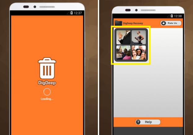 طريقة إسترجاع جميع الصور المحذوفة من أي هاتف اندرويد بدون روت