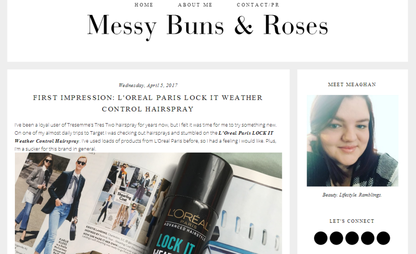bbloggers, bbloggersca, canadian beauty bloggers, messy buns and roses, featured blogger, blog of the month, beauty and lifestyle