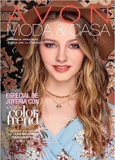 Catalogo Avon Moda y Casa Campaña 16 Setiembre 2018
