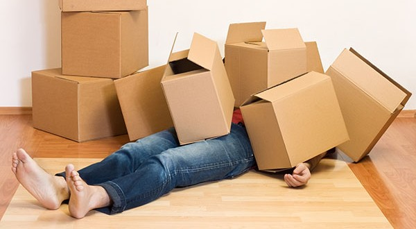 how to avoid stress moving house