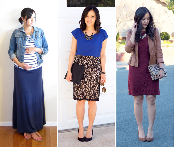 statement necklace outfits
