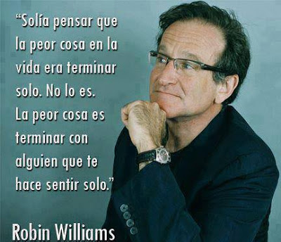 Frase de Robin Williams