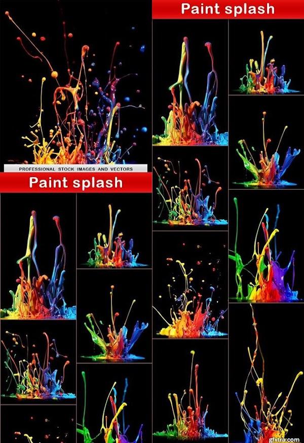 ستوكات ألوان بجودة عالية  Colors Splash