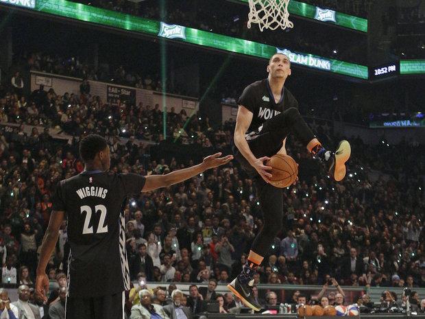 zach lavine dunk - photo #2