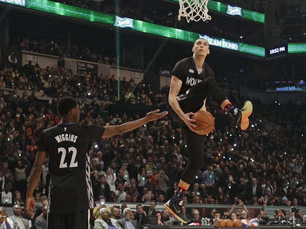 LaVine dunk