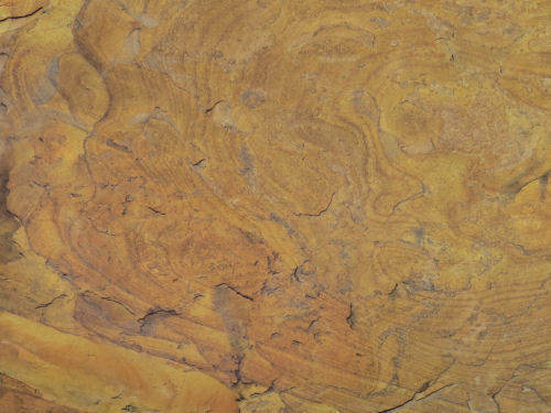 pattern in sandstone