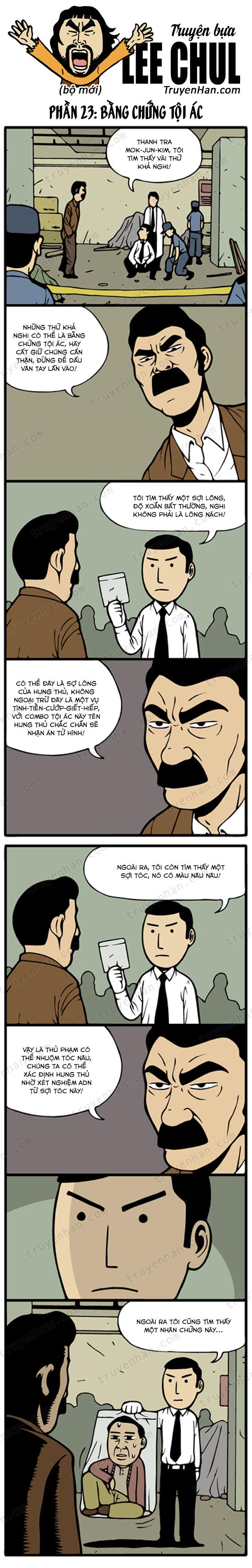 Lee Chul (bộ mới) phần 23: Bằng chứng tội ác