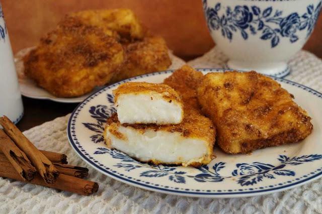 Leche frita sin gluten,al estilo tradicional