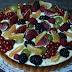 Tartaleta de frutos rojos y frutas de otoño