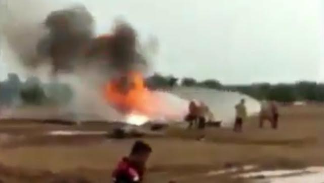 Helikopter Mi17 Penerbad TNI AD Jatuh di Kawasan Industri Kendal, 3 Orang Meninggal Dunia